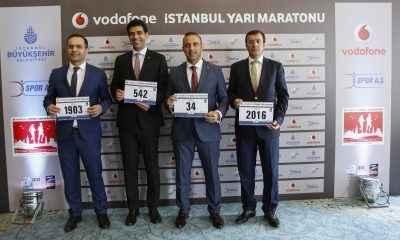 Vodafone İstanbul Yarı Maratonu için geri sayım başladı