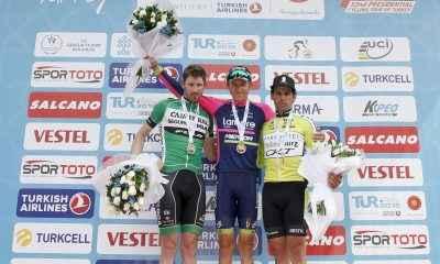 Cumhurbaşkanlığı Bisiklet Turu'nda ilk etap sonlandı