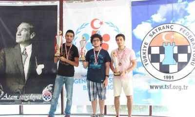 Satranç Şampiyonası'nda zafer Ege Köksal'ın
