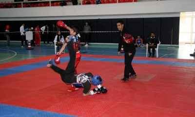 Wushu İl Seçmelerine 150 sporcu katıldı