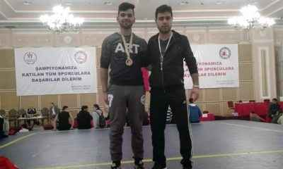 Alihan Taşer, Wushu'da Türkiye üçüncüsü oldu