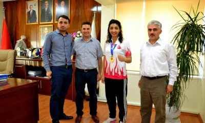 Wushu Avrupa Şampiyonu Elif Aybike Benli