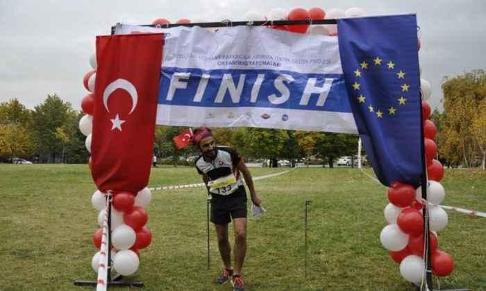 Oryantiring yarışmaları Ankara'da yapıldı
