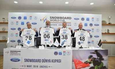 Snowboard Dünya Kupası 3. Kez Erciyes'te