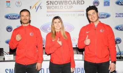 """""""FORD Snowboard Dünya Kupası"""" için Erciyes'te yarışacak"""