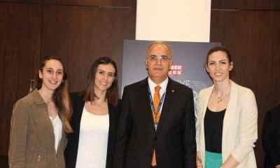 Üstündağ ve Milli Voleybolcular, Habertürk Türkiye Spor Zirvesi'ne katıldılar