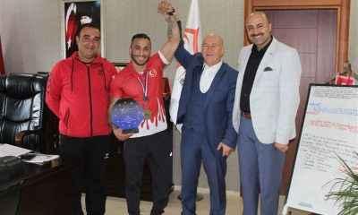 Ağrılı Milli Sporcu Avrupa Şampiyonu oldu