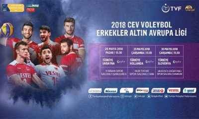 Filenin Efeleri, CEV Altın Avrupa Ligi'nde sahne alıyor