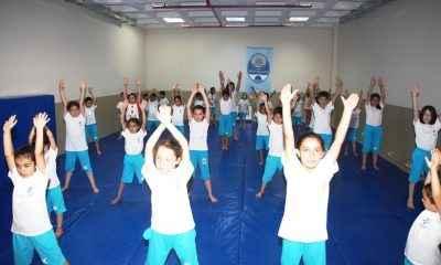 Yaz spor okullarında eğitim başladı