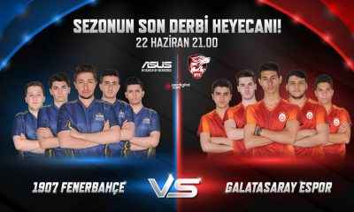 1907 Fenerbahçe – Galatasaray Espor finali yarın