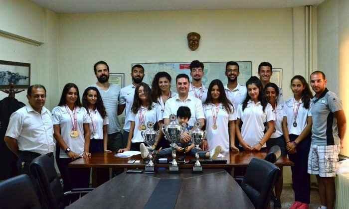 TOHM Kürek sporcuları Genç Kızlarda Türkiye Şampiyonu oldu