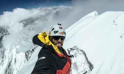 7 bin metrede tek başına: Hansjörg Auer