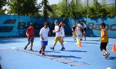 Çocuklar spor için Kadıköy'de