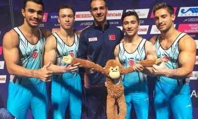 Cimnastikçiler yedinci sırada