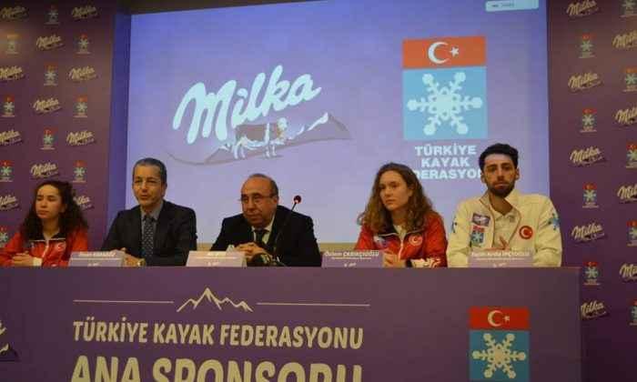 Milka'dan Türk Kayağına tam destek