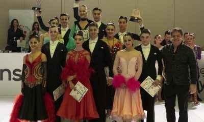 BİLGİ Dans Kupası için yarıştılar