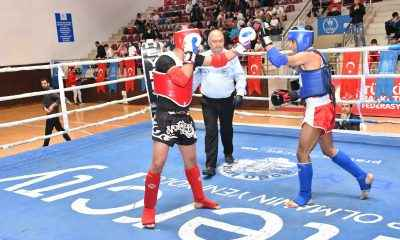 Kick-Boks turnuvasında kıran kırana rekabet