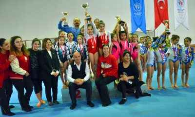 Artistik Cimnastik Ferdi ve Takım müsabakaları tamamlandı