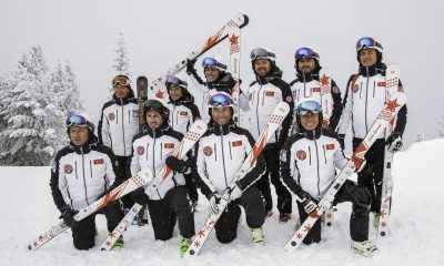 Senkronize Kayak Milli Takımı Aspen'den gururla döndü