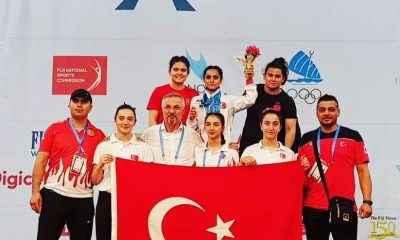 Ayşe Doğan, Gençler Halter Şampiyonası'nda üçüncü oldu