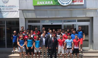 Altınsoy'dan, judoculara ziyaret