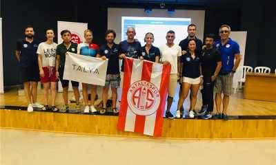 Antalyaspor'dan 15 sporcu milli takıma seçildi