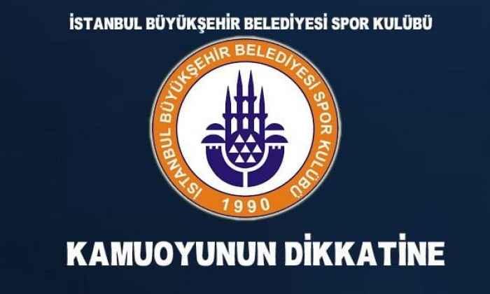 İstanbul BBSK, A Takım faaliyetlerini durdurduğunu açıkladı