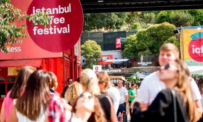 İstanbul Coffee Festival yoğun ilgiyle başladı