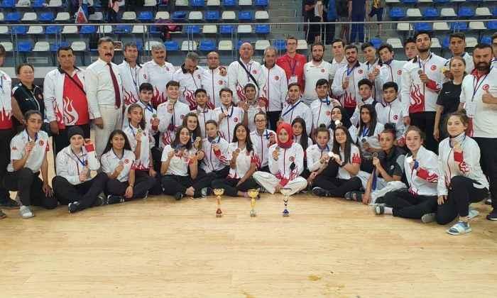 Tekvando Milli Takımı, Bulgaristan'da 31 madalya kazandı