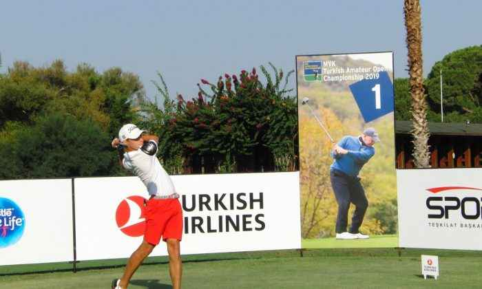 Golf heyecanı Antalya'da başladı