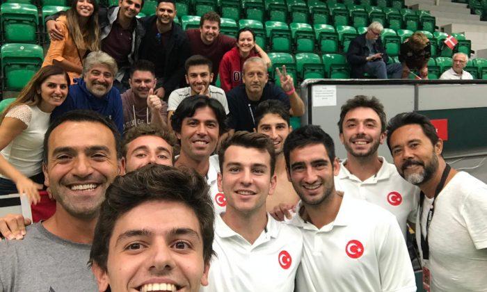 Türkiye Davis Cup'ta Danimarka'yı yendi