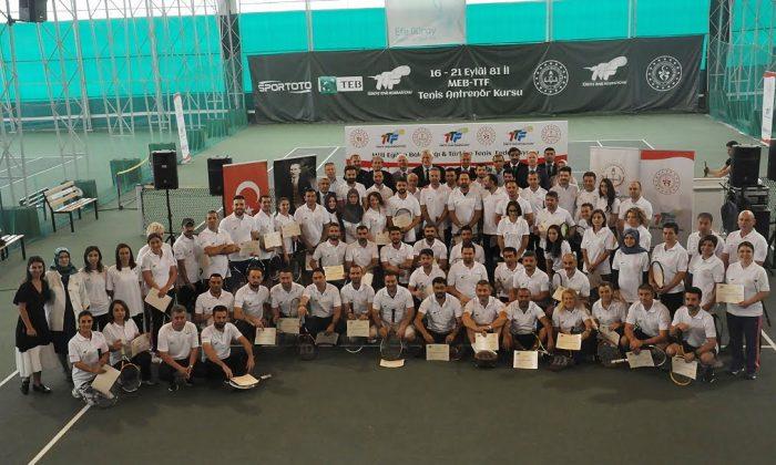 81 ilden öğretmenler başarılı tenisçiler yetiştirecek