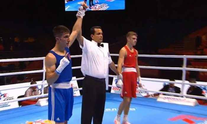 Milli boksör Tuğrulhan Erdemir ikinci turda