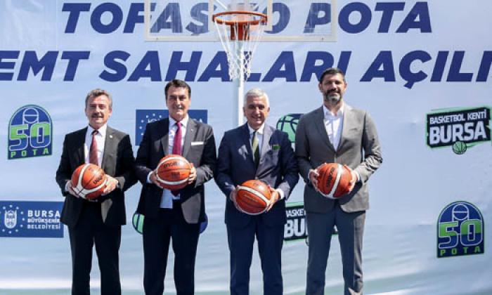 """Bursa'da """"50 Pota"""" projesi hayata geçirildi"""