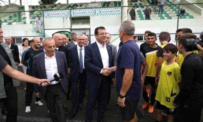 İmamoğlu'ndan Küçükçekmecespor'a stad müjdesi