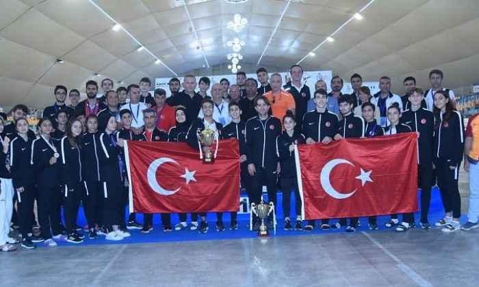 Avrupa şampiyonasını 5 madalyayla tamamladık