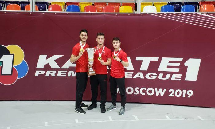 Milli Karateciler Rusya'da 3 madalya kazandı