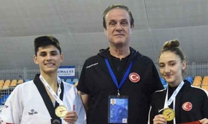 Tekvandoda Server ve Azra Avrupa Şampiyonu oldu