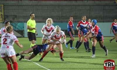 Kadın Ragbi Lig Milli Takımımız Fransa'ya kaybetti