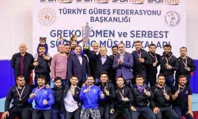Serbest Güreş Süper Lig'de şampiyon Ankara İlbank