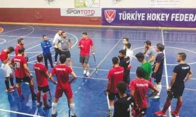 Hokey Milli Takımı, hazırlıklarını Trabzon'da sürdürüyor