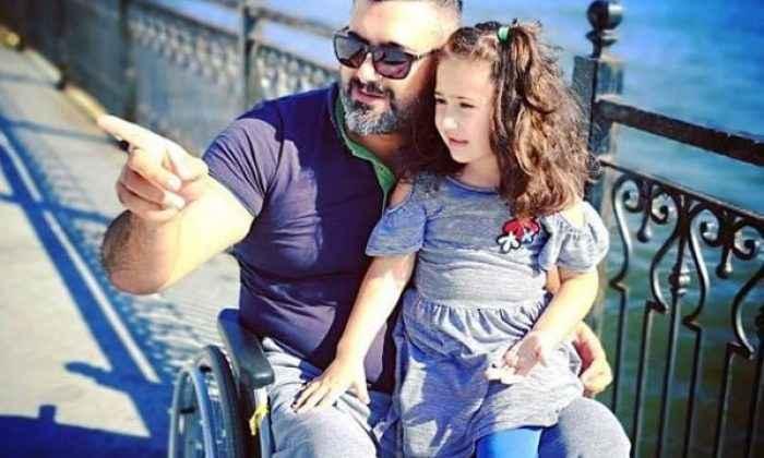 Engelli sporcunun hayatı, kızı Berfin'in doğuşuyla değişti