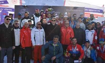 Milli kayakçılardan Erzurum'da 11 madalya