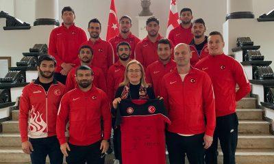 Judo Milli Takımımız, Tiflis Büyükelçisini ziyaret etti