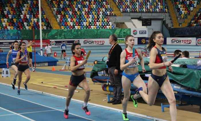 Milli Atletlerden Balkan salon Şampiyonası'nda 16 madalya