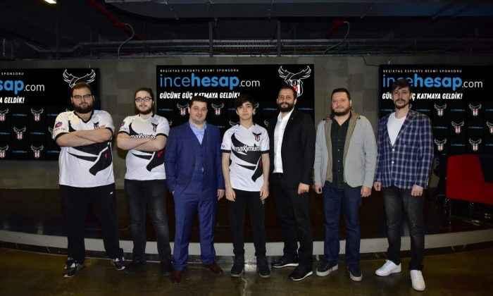 Beşiktaş Esports Ana Sponsoru incehesap.com oldu