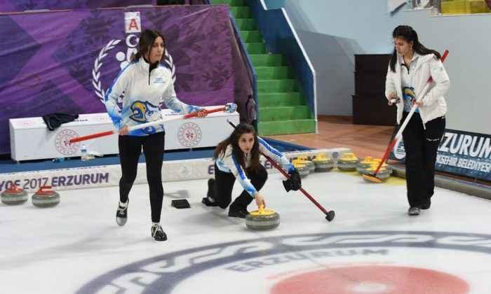 Türkiye Curling Federasyonu'ndan Büyükşehir'e teşekkür