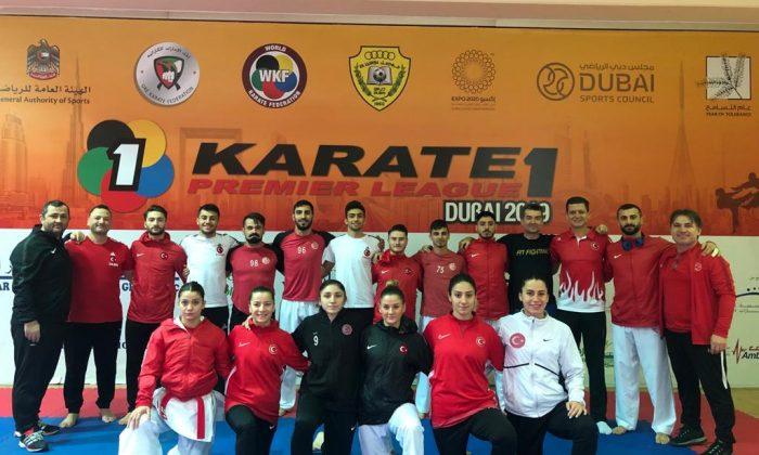 Milli Karateciler Dubai'de tatamiye çıkıyor