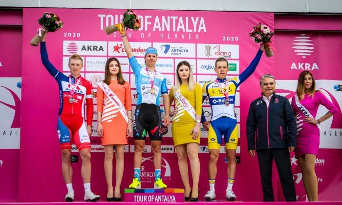 Spor Tour of Antalya'nın ilk etabını Mihkel Raim kazandı