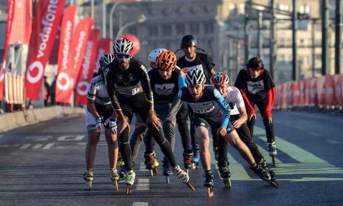 15. İstanbul Yarı Maratonu'nda patenciler koşuculara eşlik edecek